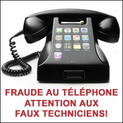 Fraude Faux techniciens